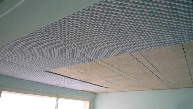 Zoom sur isolation phonique plafond prix for Isoler un garage prix