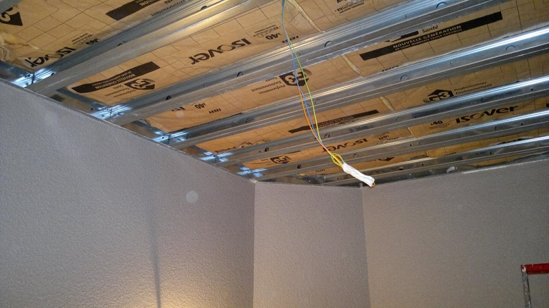 Proc der l 39 isolation acoustique du plafond for Isolation contre le bruit